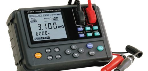 Hioki battery tester